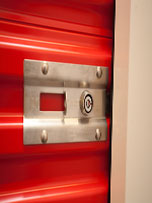 Safe cylinder storage locks